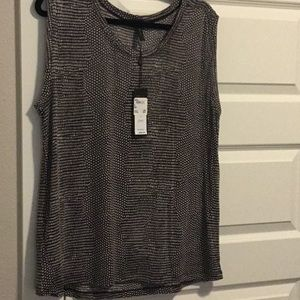 Sleeveless BCBG knit top